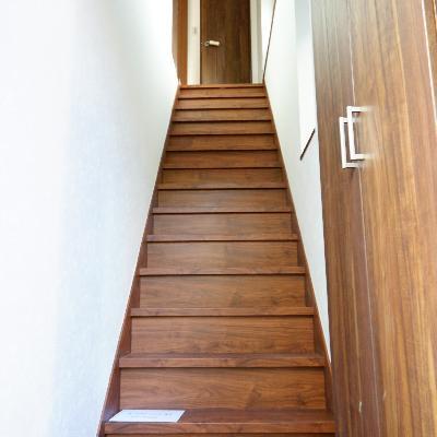 階段も広くて上りやすい♪