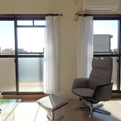南向きの窓※別部屋の写真です