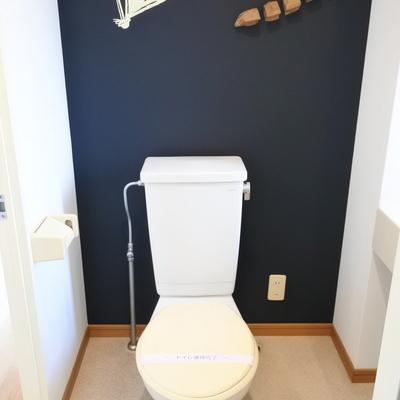 トイレもポップにデザイン