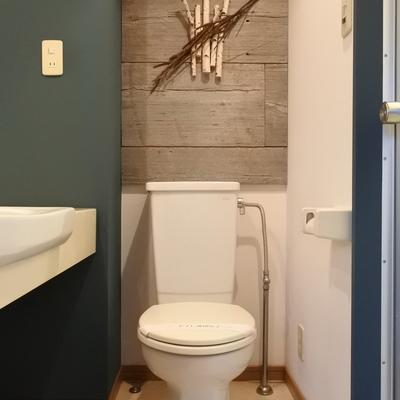 個人的には、トイレが一番かっこいいと思います。