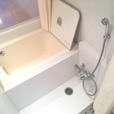 お風呂はなかなかゆったり余裕があります!