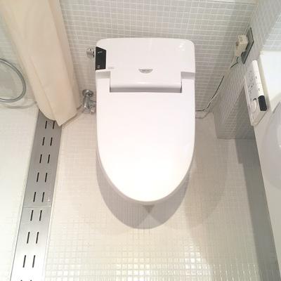 トイレもシンプルでも綺麗!
