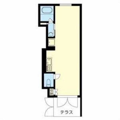 ズッドーンっと長いお部屋。