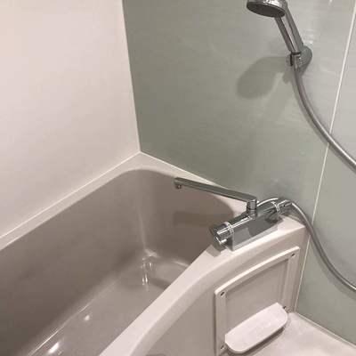 お風呂場もきれいです