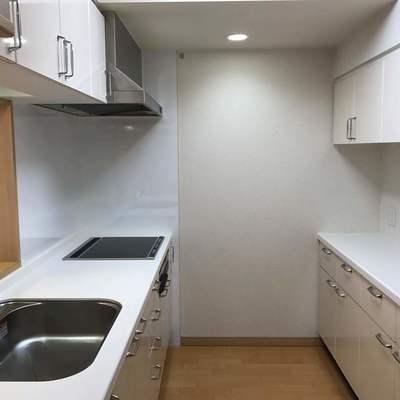 キッチン収納も完璧です