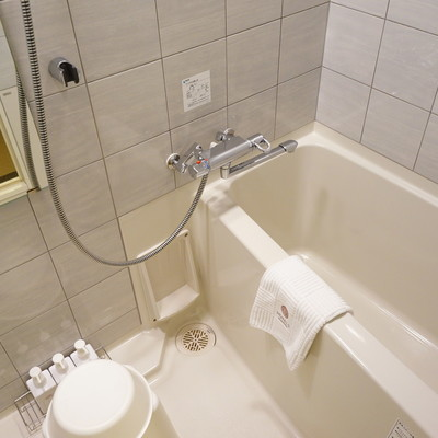 お風呂も個室なのが◎