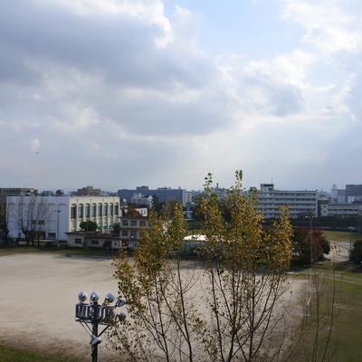 眺望は元九大キャンパス※写真は別室
