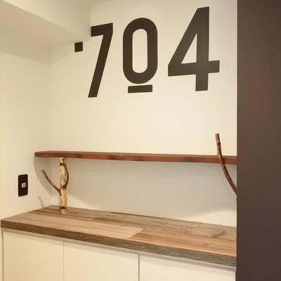 自分のお部屋の号室、忘れないようにね。