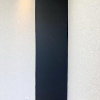 【洋室】取手が見えないタイプのクローゼットです。
