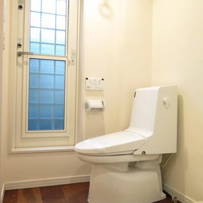 トイレも綺麗で清潔感たっぷり