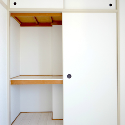 5畳のお部屋にも収納スペース