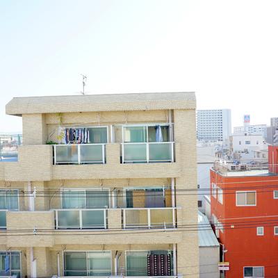 5階からの眺望は抜けていて気持ちが良い
