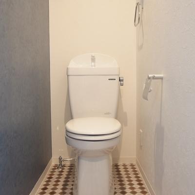 ポップなトイレ。