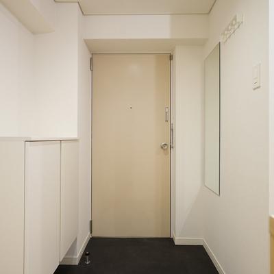 玄関もすっきりカッコいい◎