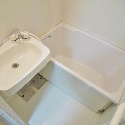 お風呂は少し小さいけど、洗面台は大きい!