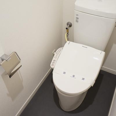 トイレは新しくウォシュレット付きに!