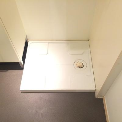 洗濯機は洗面台の隣に置けます