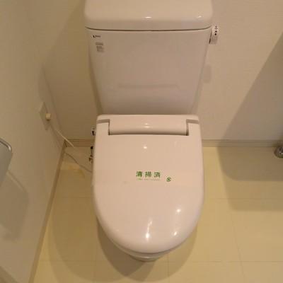 トイレはこちらですね。※画像は別部屋