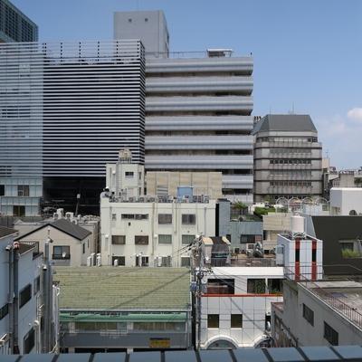 都会の眺望。※写真は別部屋