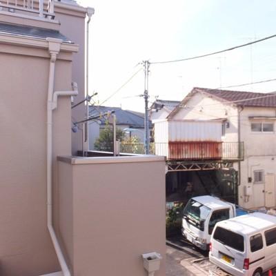 眺望は住宅街を望みます