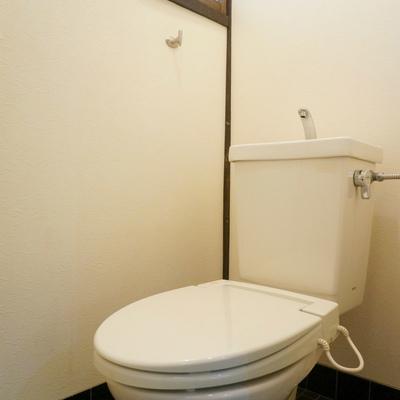 お手洗いには嬉しい小窓付き(温便座機能のみついてます)