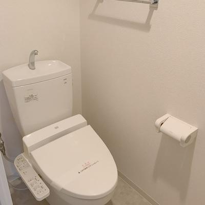 トイレもシンプルに
