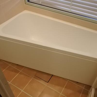 お風呂は取っても狭い