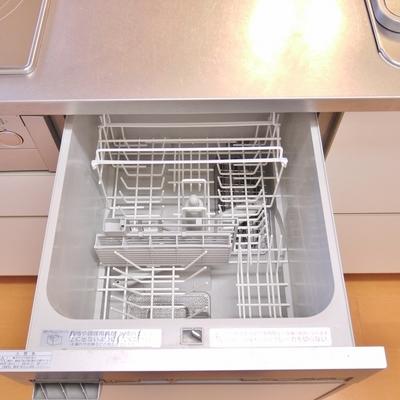 下を見ると、食洗機がぁ~♪