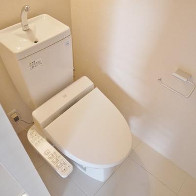 トイレは孤立してますよ。※写真は前回掲載時のものです。