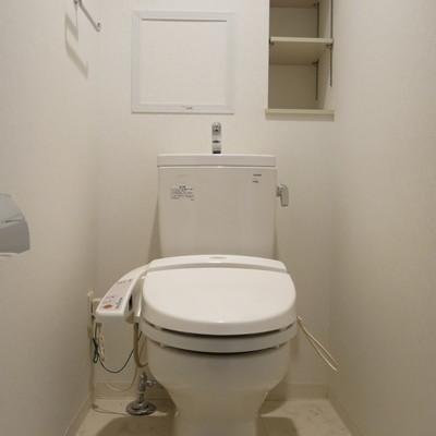 トイレももちろんキレイです