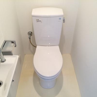 なんとお手洗い付き
