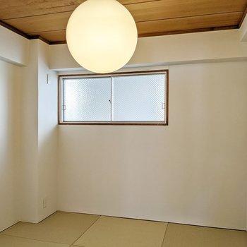 琉球畳。4.5帖の広さです。