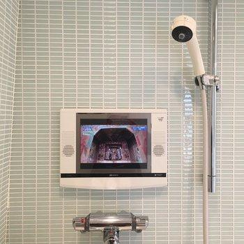 なんとなんと、テレビ付きのお風呂です!毎日楽しく長風呂しましょう♪※写真は前回募集時のものです