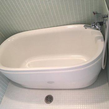 お風呂もコロンとかわいく動かせます!※写真は前回募集時のものです