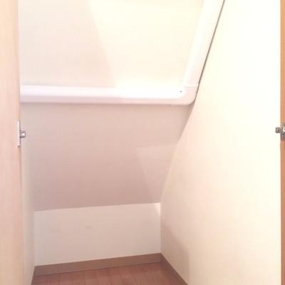 階段下の空間を有効活用