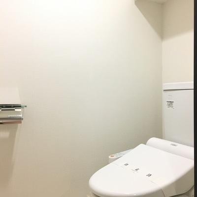 綺麗なトイレはウォシュレット付き