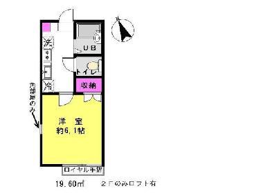 篠崎11分アパート の間取り