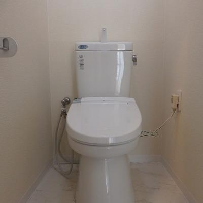 シンプルばトイレ。