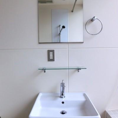 洗面台だってお洒落デザイン。※写真は同タイプの別部屋