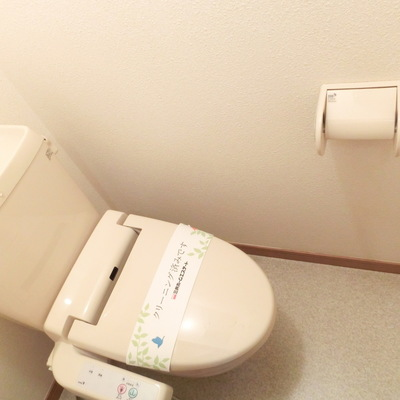シンプルなトイレです