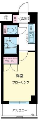 東高円寺11分マンション の間取り