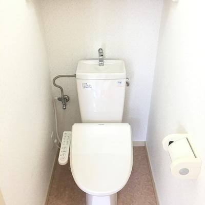トイレは個室!嬉しいポイント