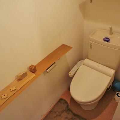 トイレもかっこいいですね!