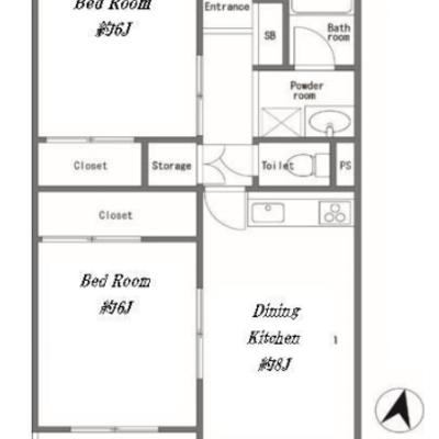 お部屋はたっぷり3部屋あります!