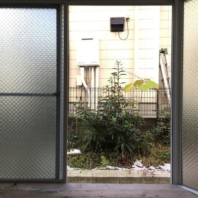 窓の外はこんな感じ