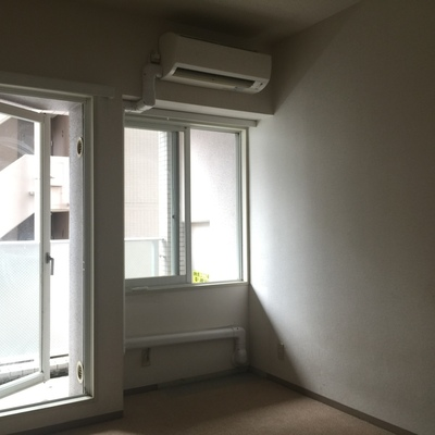 天井は高めです※写真は工事前