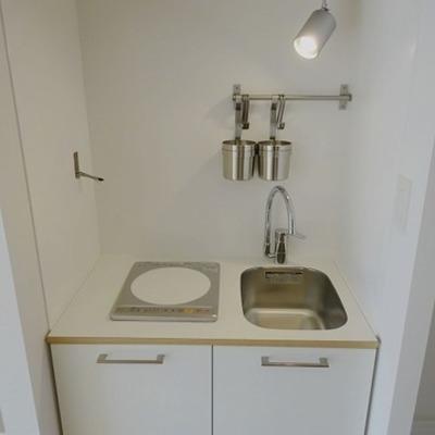 1口IHのキッチンです※写真はイメージ