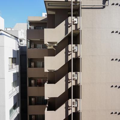 眺望はこちら、新宿なので。