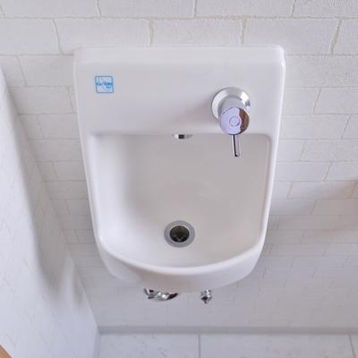 手洗いもついてます。
