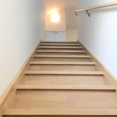 階段をあがると・・・